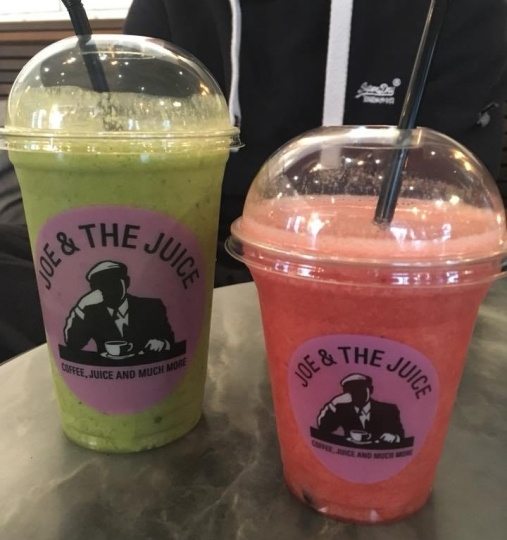 smoothie shops in london