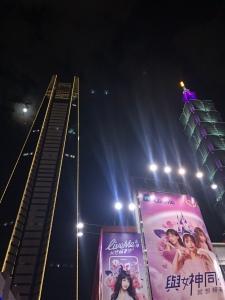 Taipei 101 at night shopping
