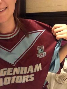 West Ham United Dagenham Motors shirt