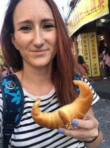 Sanxia bull horn bread