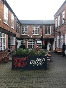 Steam yard coffee Sheffield