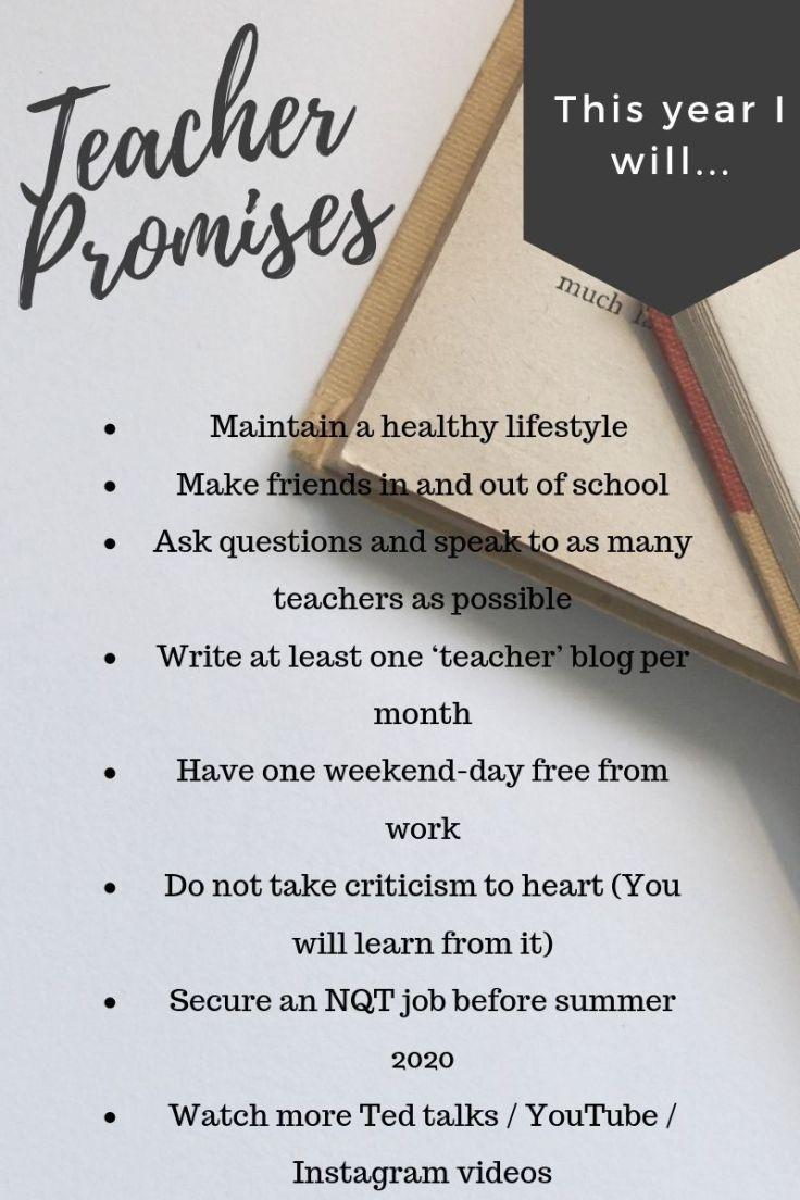 Teacher Promises